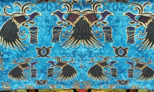 batik motif cendrawasih papua