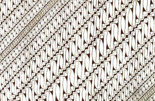 batik keraton motif parang