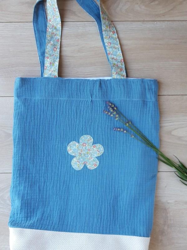 Grand sac maternelle fait main