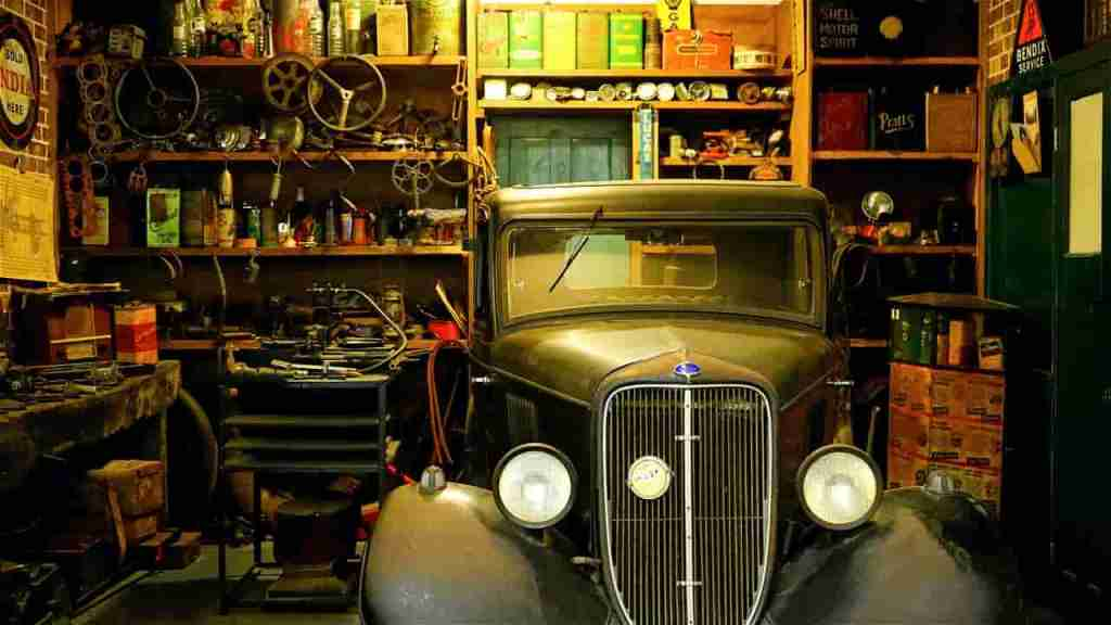 garage auto abri usures