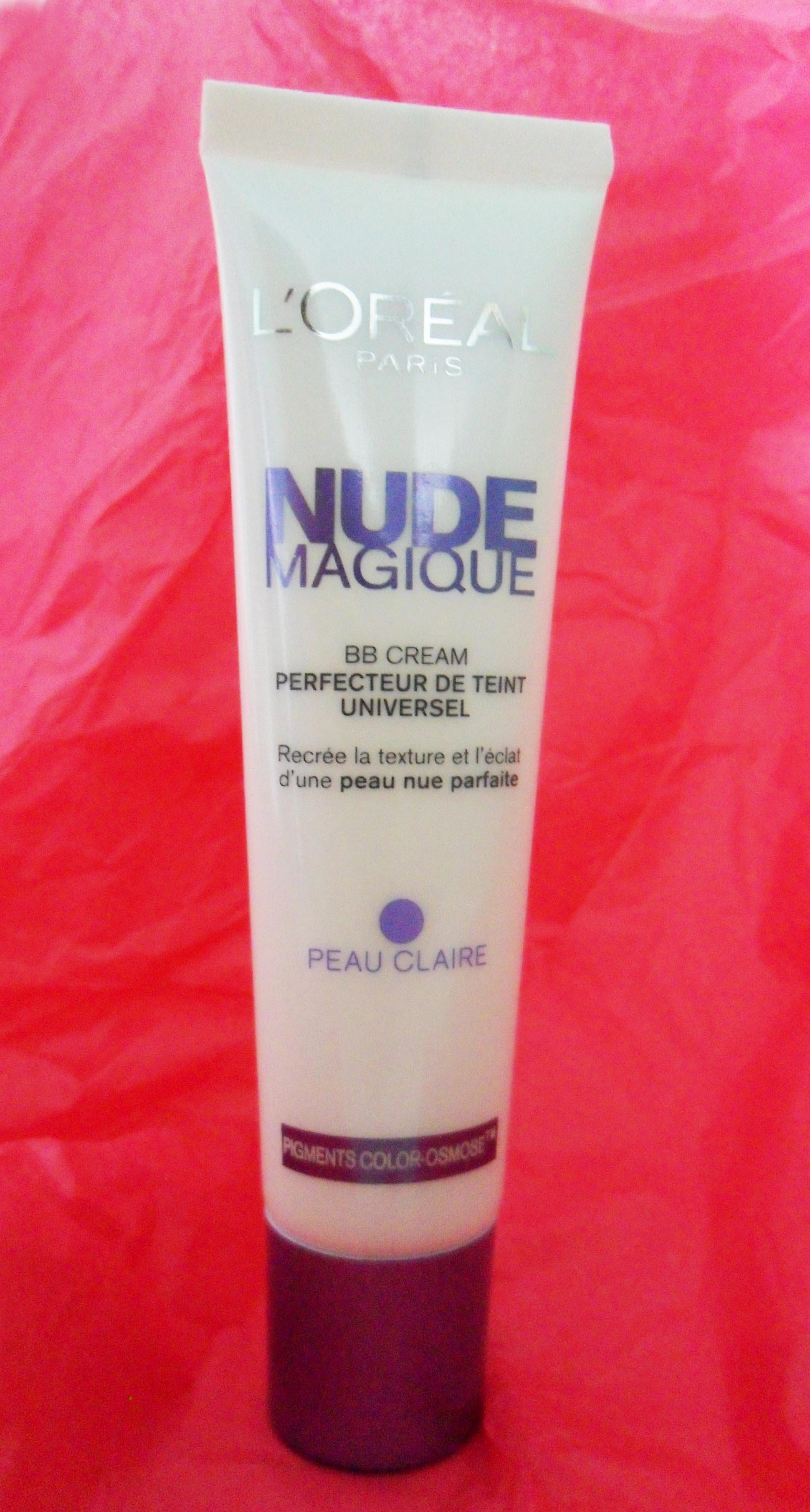 LOréal Paris Nude Magique BB Cream ,Peau Claire à Médium