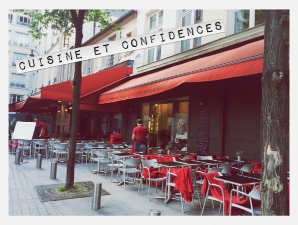 Cuisine et Confidences Place du Marché Saint Honoré Paris