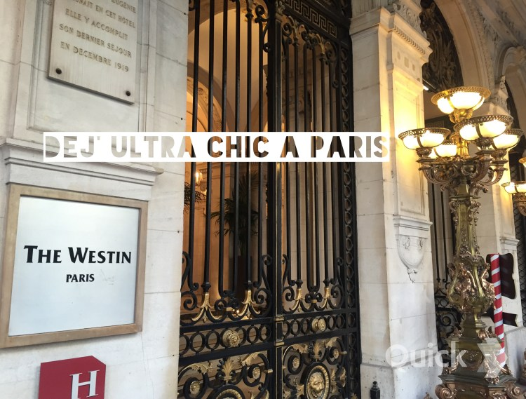 Restaurant Westin Hotel Le First Paris