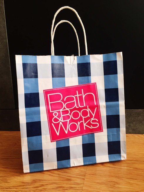 Bath & Body Works shopping bag