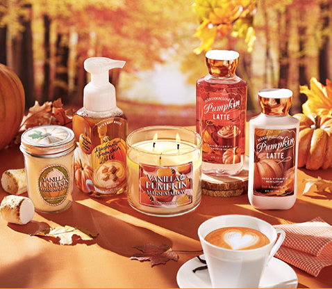 Sweet Cinnamon Pumpkin Bath and body works