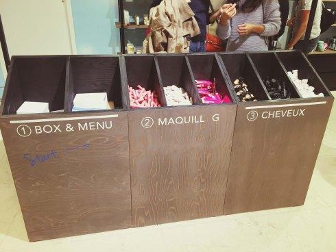 Exposition Brooklyn Rive Gauche Bon Marché beauty box Birchbox