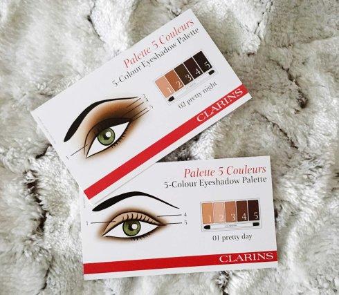 Tuto maquillage Make Up Clarins Palette Belle de Jour et Palette Belle de Nuit