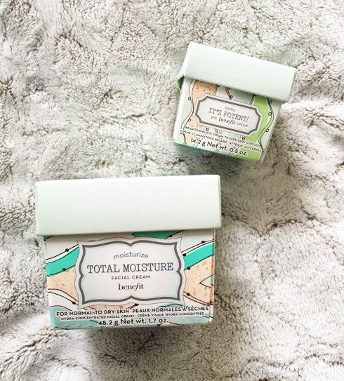 Bright Benefit crème de jour et contour des yeux packaging