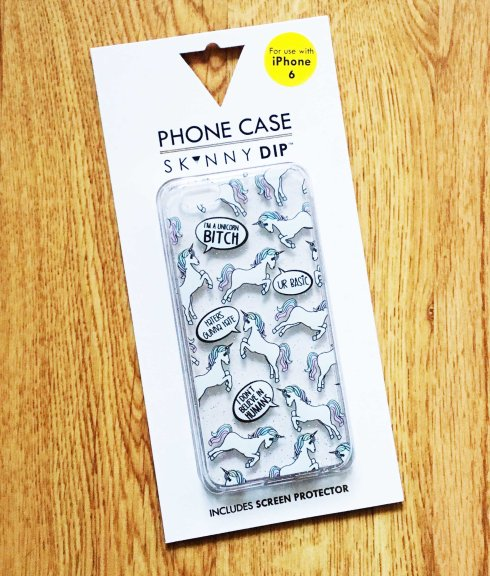 Haul Asos Coque iPhone licornes Skinny Dip