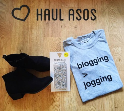 Haul Asos Coque iPhone Skinny Dip Boots Newlook T-shirt Adolescent Clothing