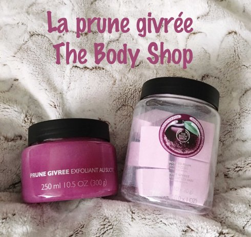 Bain senteur prune givrée The Body Shop