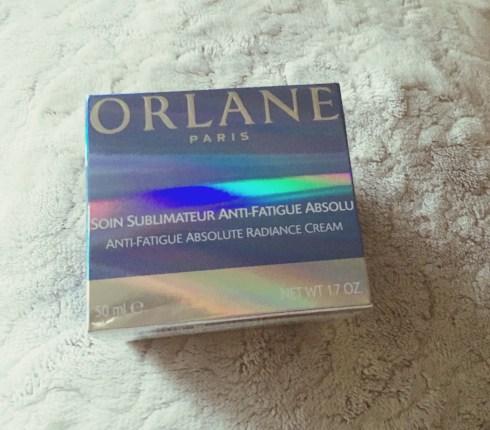 Soin sublimateur anti fatigue Orlane