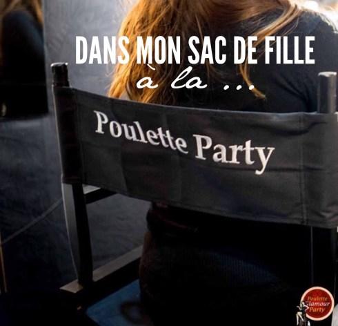 Poulette Party Dans Mon Sac de Fille