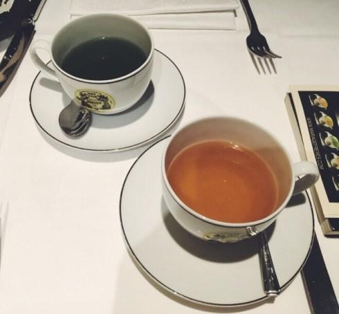 Thé Haute Couture Restaurant Mariage Frères Faubourg Saint Honoré Cuisine au thé