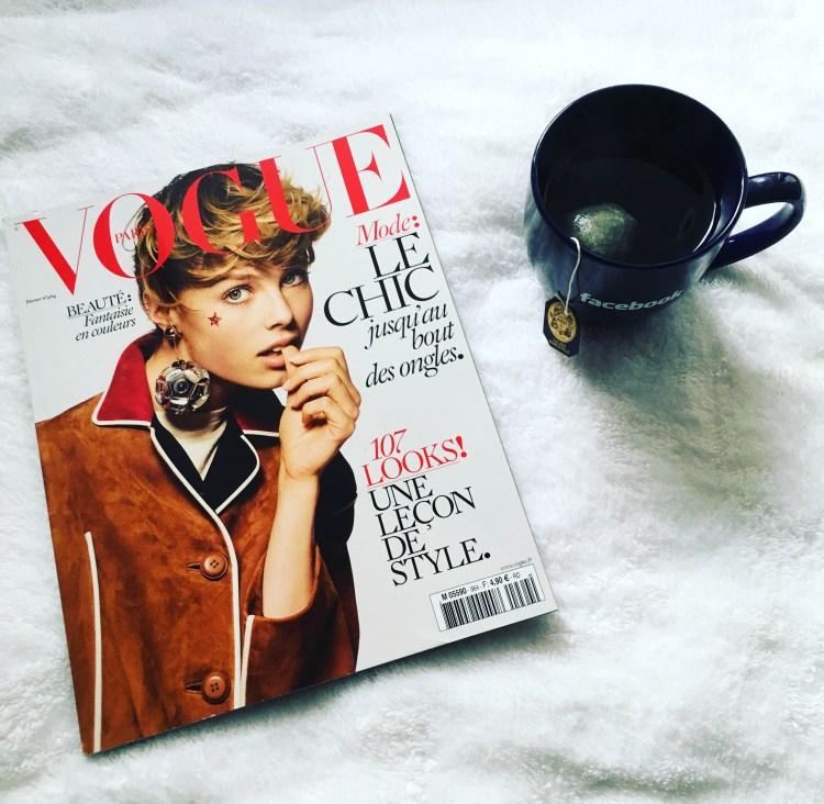 Thé vert Marco Polo Mariage Frères Green Tea Vogue Paris Février