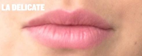 Rouge à lèvres Allure Chanel teinte La Délicate avis blog