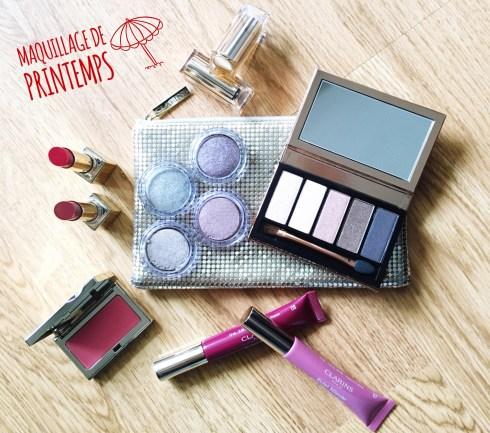 maquillage printemps été clarins ombre iridescentes rouge a lèvres embellisseurs Eclats Minute Carins