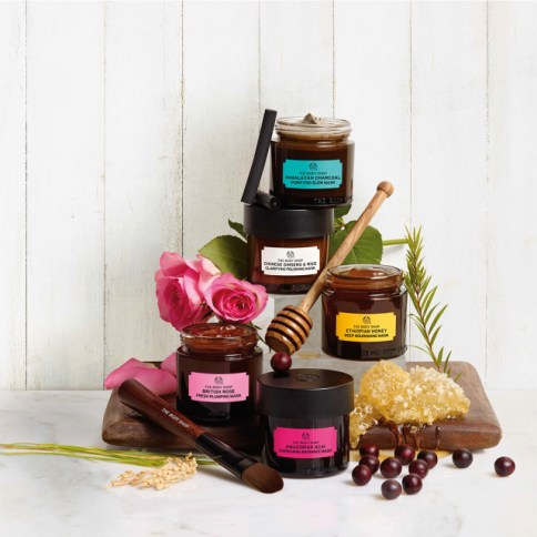 Recipes of nature The Body Shop masque visage avis blog