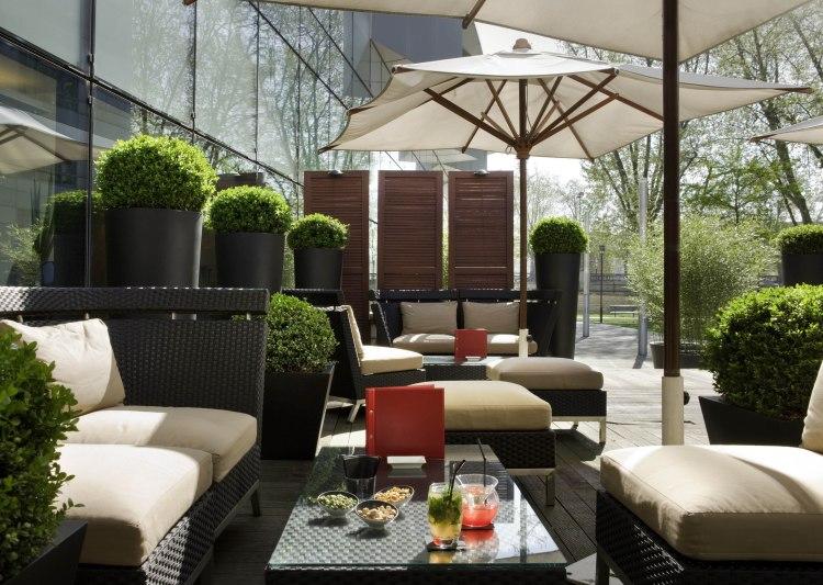 Hotel Pullman Paris Bercy restaurant terrasse avis blog