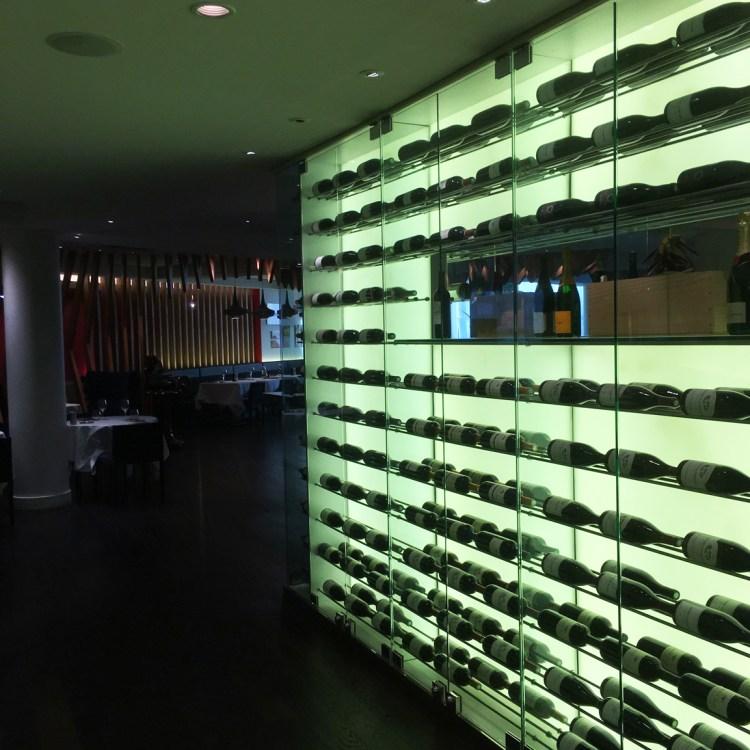 Hotel Pullman Paris Bercy restaurant bar cave a vin avis blog