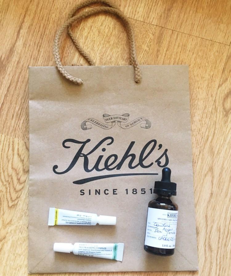 Apothecary Preparations Khiel's serum avis blog Le Bon Marché