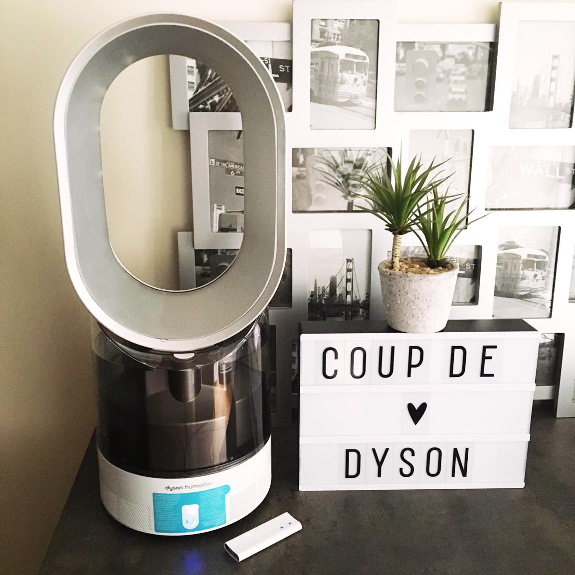 Mon avis sur l 39 humidificateur dyson am10 un accessoire - Comment humidifier une chambre sans humidificateur ...