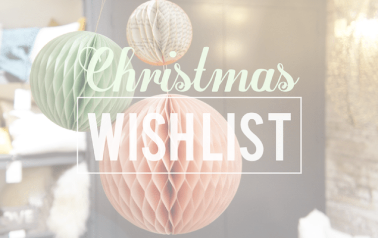 Wishlist Noël 2016 blog