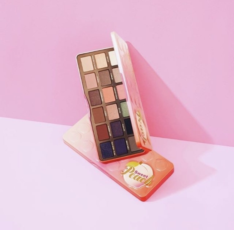 Sweet Peach Palette Fards à Paupières Too Faced 2017 avis blog france