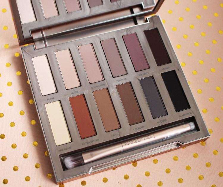 Urban Decay Naked Ultimate Basics palette fard mat avis blog packaging