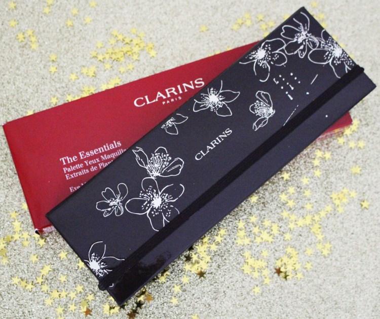 Mon avis sur la palette de fards à paupières The Essential de Clarins blog Noël