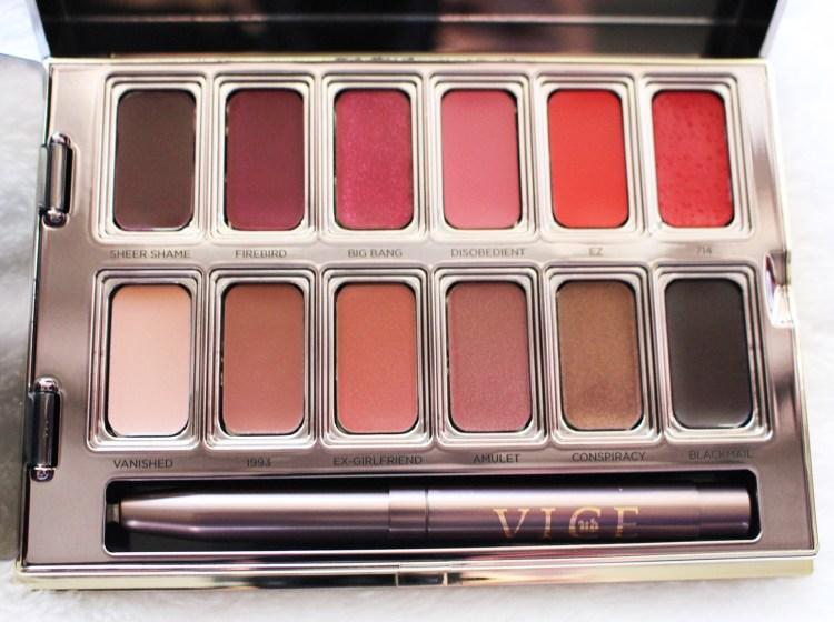 Palette Vice Lipsticks rouge à lèvres urban decay avis blog beauté