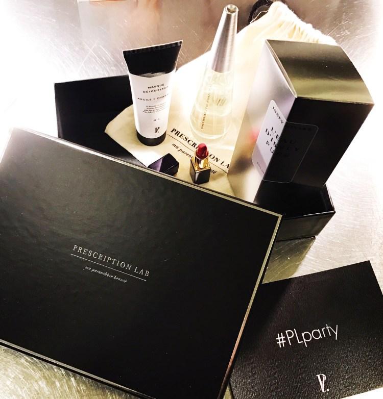 mon avis box beauté luxe Prescription Lab
