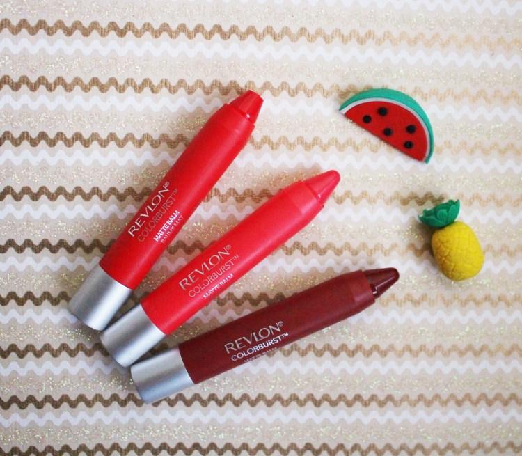 crayon rouge à lèvres revlon colorburst baume mat avis blog