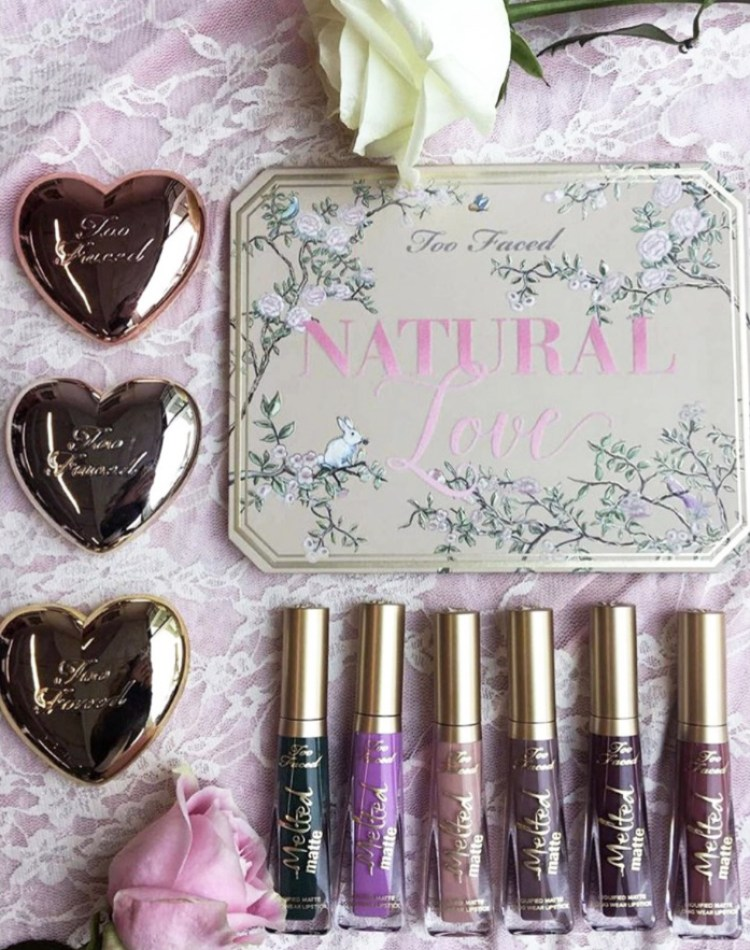 Too Faced Collection été Natural Love Love Light date sortie