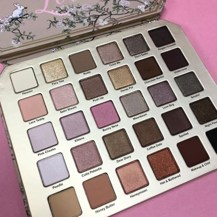 Too Faced Collection été palette Natural Love Eyeshadows date sortie