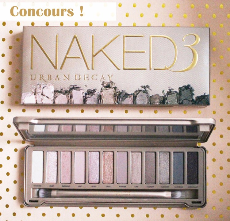 concours palette Naked 3 urban decay blog