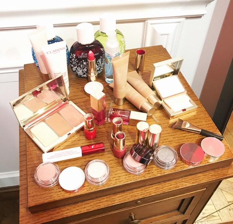 Mon avis sur la collection maquillage Printemps Eté de Clarins kit pores matité palette contouring stylo yeux 4 couleurs avis blog beauté