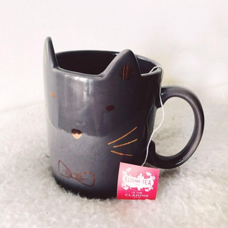 Ma rentrée detox avec le thé Kusmi Tea X Clarins avis blog