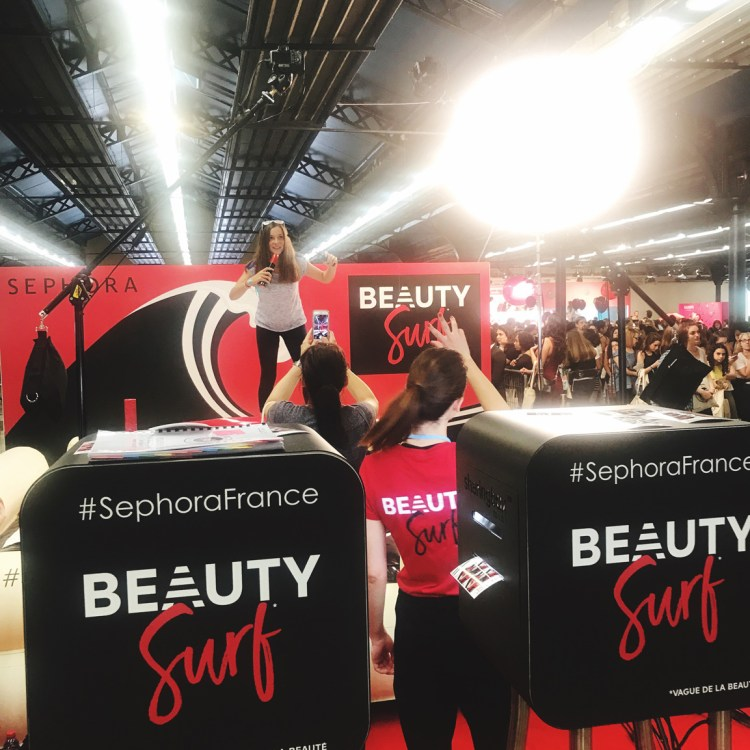 2e édition salon Get Beauty salon des Youtubers Youtubeuses blog sephora