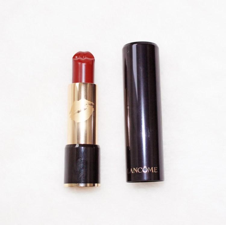 Lancôme X Olympia Le-Tan mon avis sur le Rouge Bisou Rouge Profond collector blog