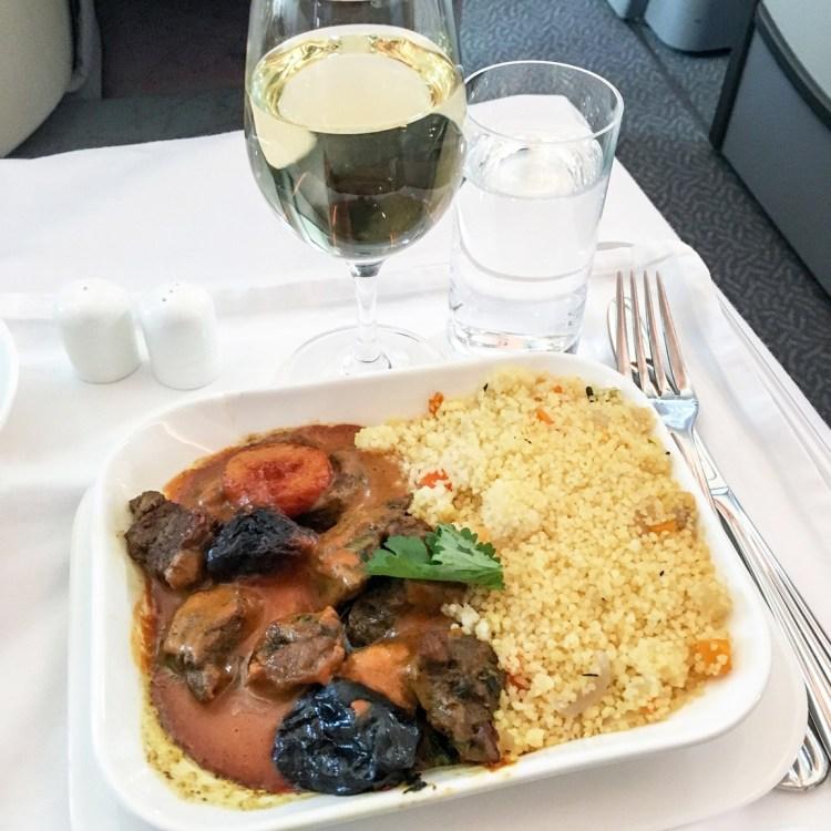 voyage en Business Emirates mon avis la classe affaire A380 blog tagine