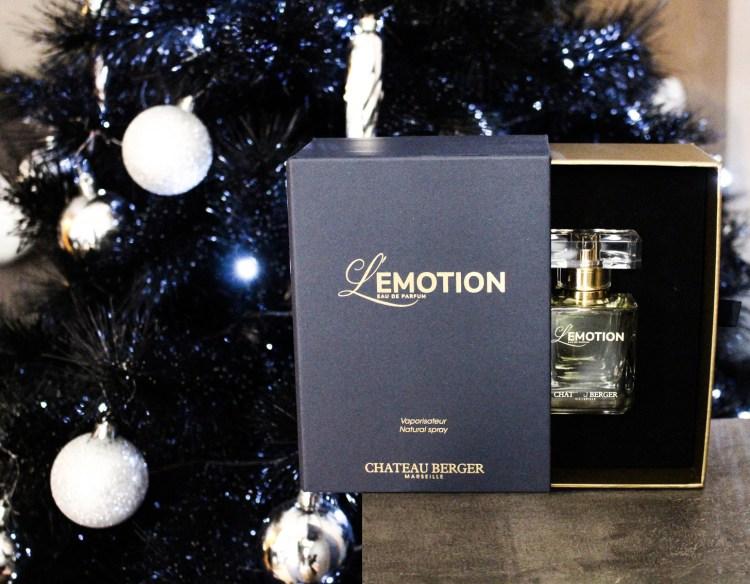 L'Emotion de Château Berger mon nouveau parfum hiver avis blog
