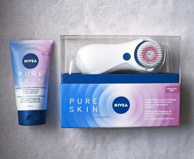 La brosse nettoyante Pure Skin Nivea avis blog