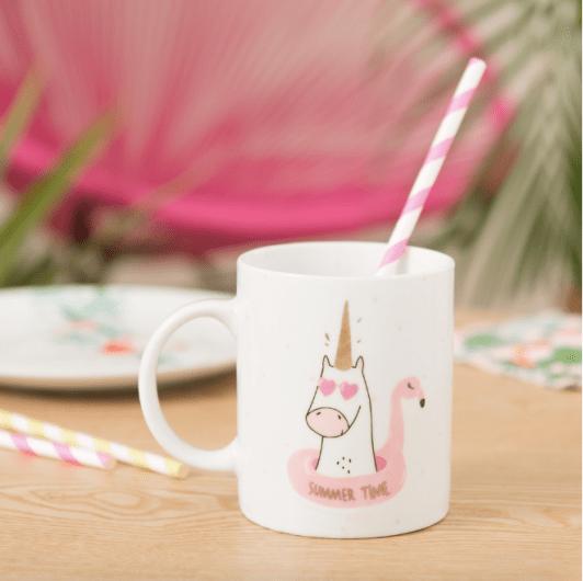 Mug Licorne Maison du Monde Wishlist 2018 ma liste de cadeaux d'anniversaire spéciale 33 ans blog