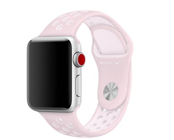 Bracelet Apple Watch Nike Rose Pâle Wishlist 2018 ma liste de cadeaux d'anniversaire spéciale 33 ans blog