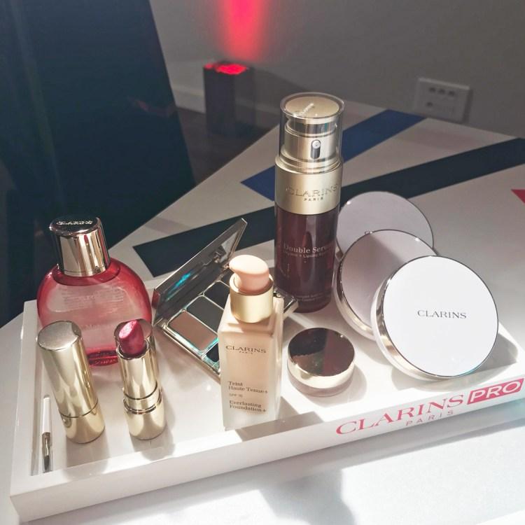 Graphik la collection maquillage Automne Hiver 2017 de Clarins avis blog dans mon sac de fille