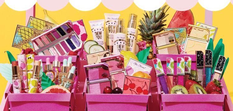 Tutti Frutti la nouvelle collection maquillage de Too Faced avis blog france