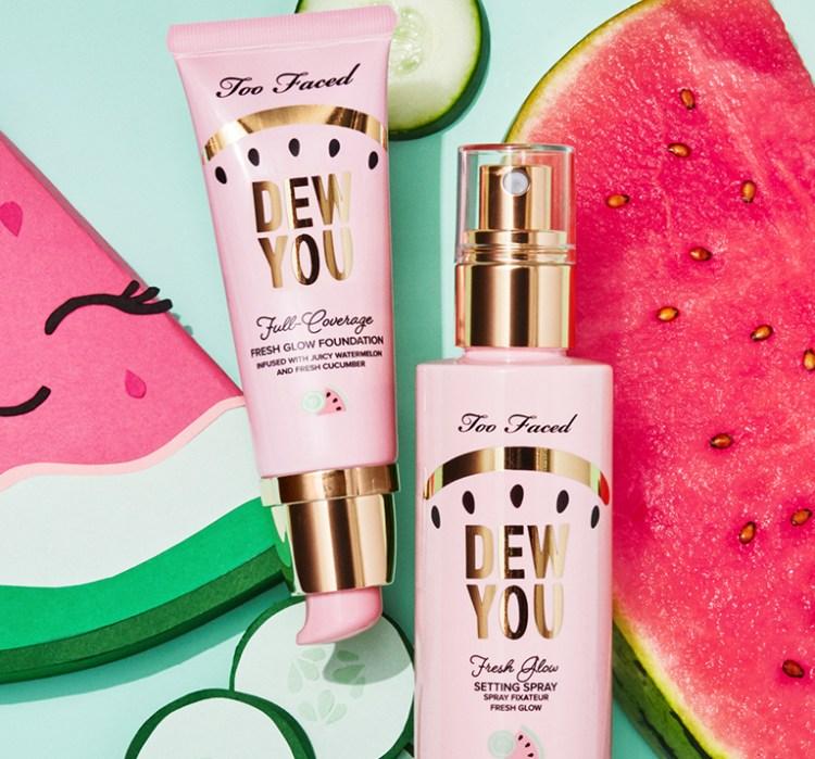 Tutti Frutti la nouvelle collection maquillage de Too Faced fond de teint dew you avis blog