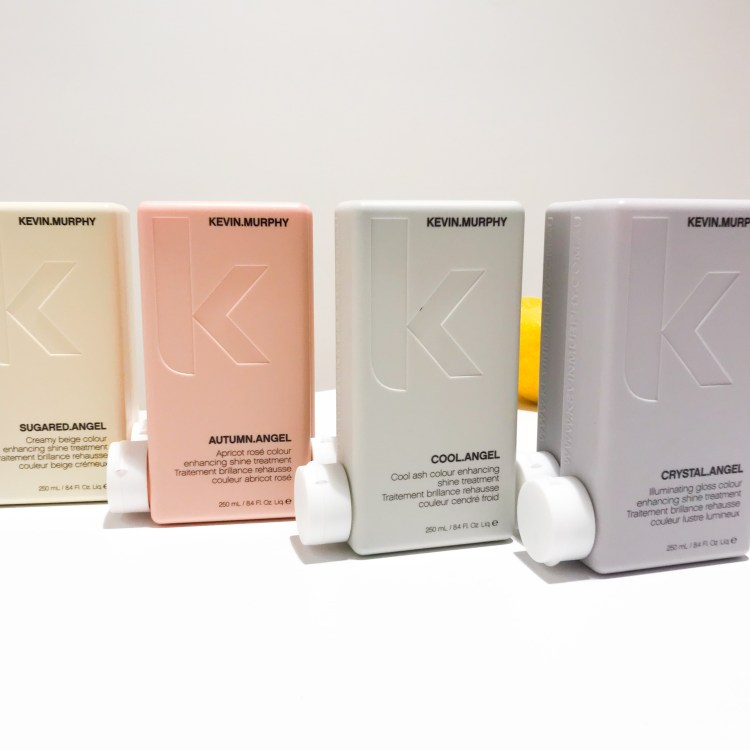 Découverte du shampoing et du soin Repair Me de Kevin Murphy blonde angel cool angel sugared angel