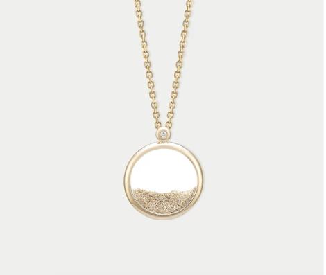 luxueux collier Sunset d'Ofee blog wishlist noel